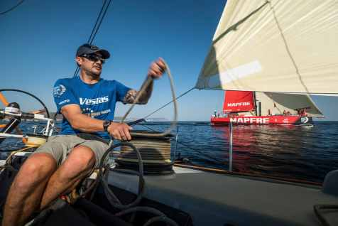 Training,Pre-race,Phil Harmer,MAPFRE,2017-18,on board,on-board,Vestas 11th hour Racing