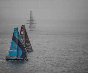 Aerial,Portugal,Lisbon,2017-18,port, host city,Vestas 11th hour Racing,Team Sun Hung Kai/Scallywag,Kind of picture, The Mirpuri Foundation In-Port Race