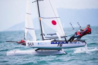 Nacra 15 Open, SUI Max Wallenberg Amanda Björk-Anastassov, Sailing Energy, World Sailing, Youth Sailing World Championship, Youth Worlds, classes