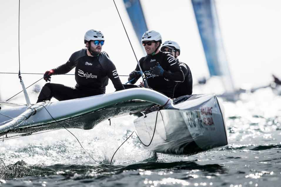 Water Sport, Sailing, Diam24, Multihull, Oman, 2018 EFG Sailing Arabia The Tour, Salalah, DB Schenker