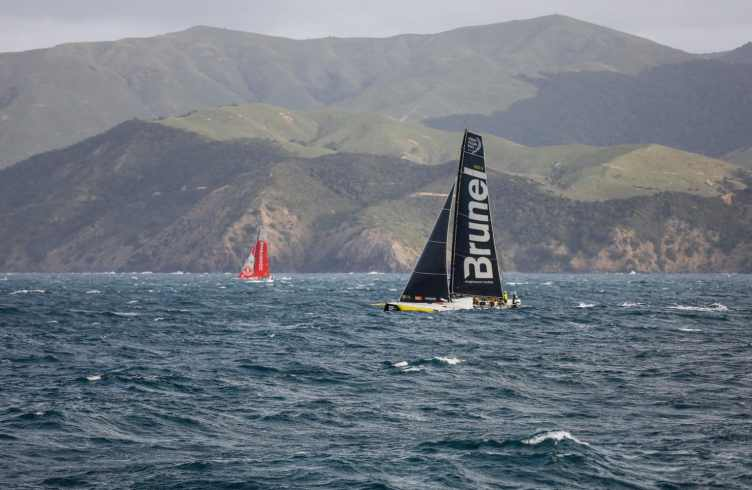 Aerial,Start,Helicopter,Leg 7,Dongfeng,2017-18,Auckland-Itajaí,Team Brunel,Kind of picture