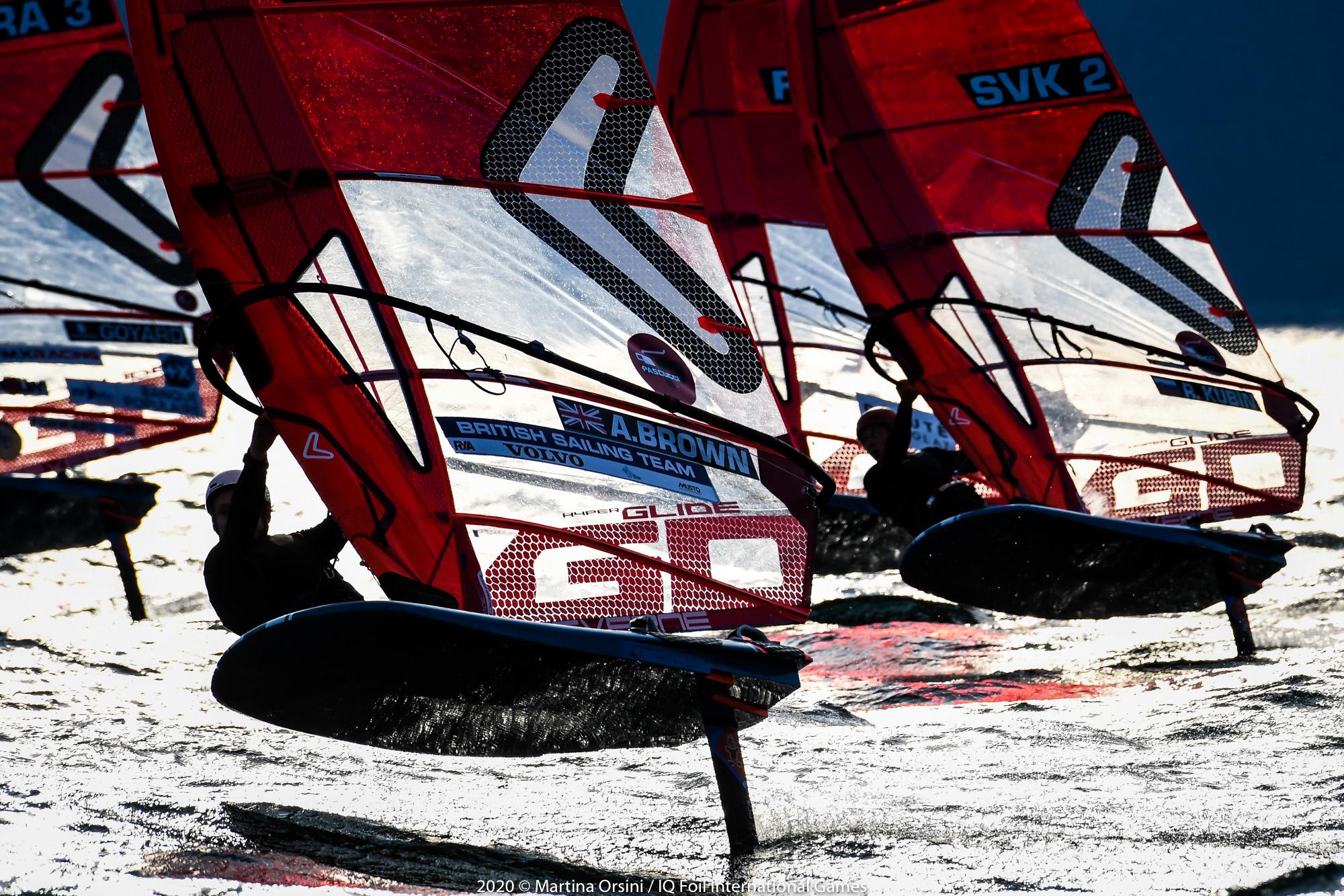 Iqfoil International Games Iqfoils 2020 Helene Noesmoen Et Nicolas Goyard Medailles D Argentadonnante Com Surfez Sur L Actualite Voile Sportive Course Au Large America S Cup Voile Legere Surfez