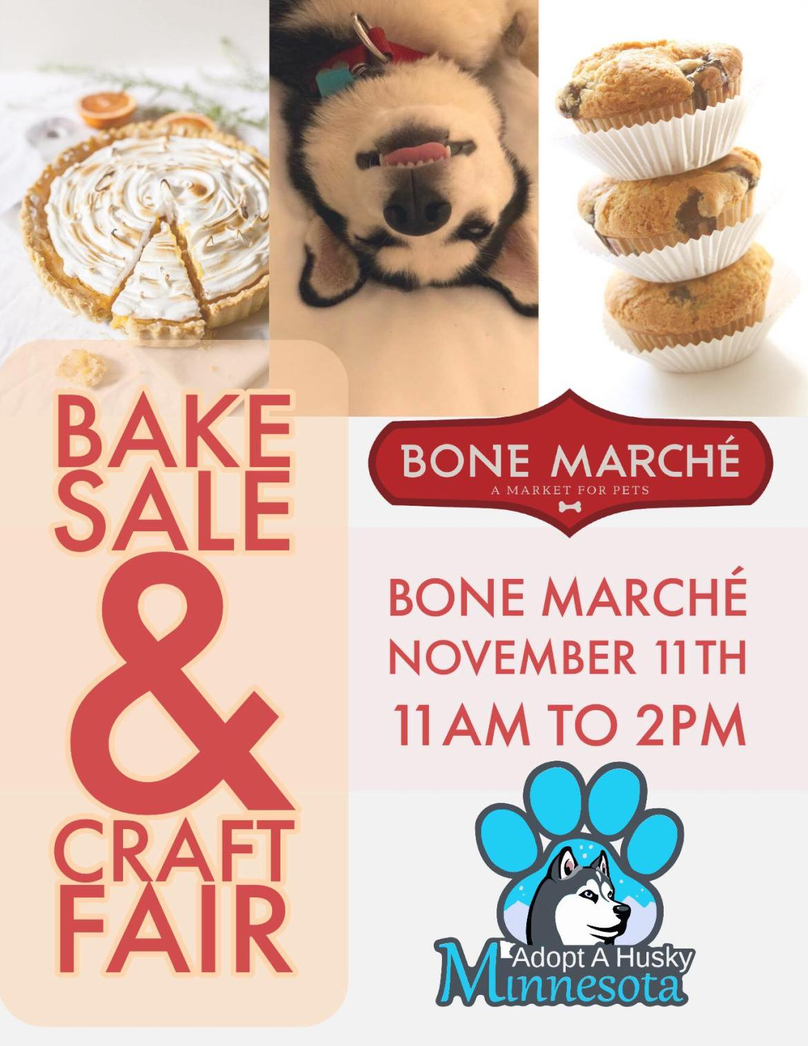 Bake sale and Craft Fair at Bone Marché