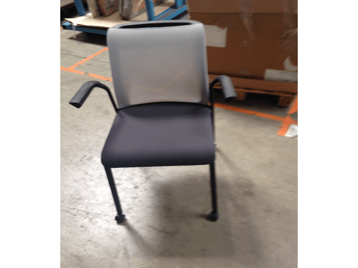 Chaise Visiteur Steelcase Eastside Occasion
