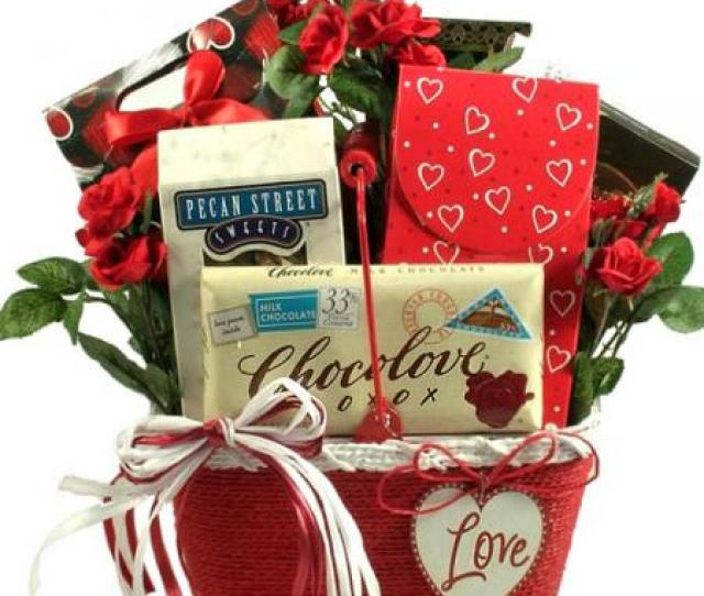 Dedicated To You Romantic Gift Basket Loading Zoom