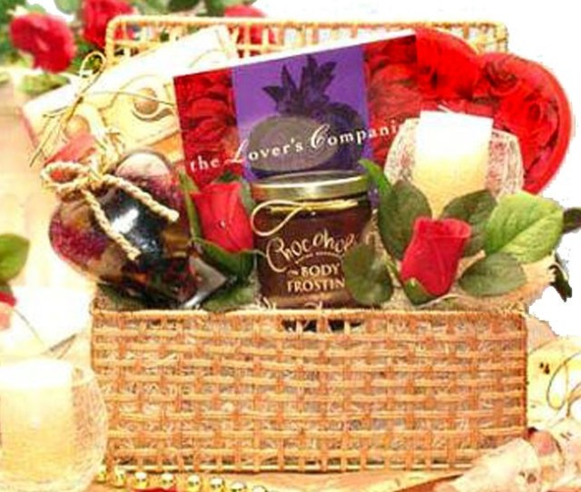 Giving You My Heart Gift Basket Loading Zoom