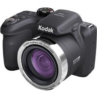 KODAK PIXPRO AZ401 16MP Digital Camera, 40x Optical Zoom, 720p HD Video, 180 Degree Panorama Mode, Optical Image Stabilization, Black