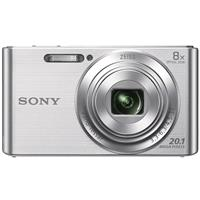 Sony Cyber-shot DSC-W830 Digital Point & Shoot Camera, Silver