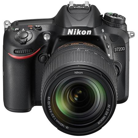 D7200 DSLR with AF-S DX NIKKOR 18-140mm f/3.5-5.6G ED VR Lens