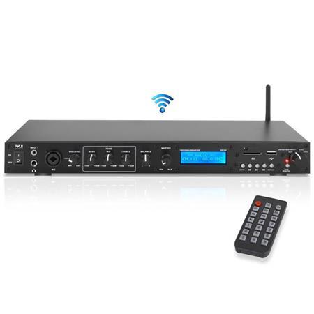 pyle ppre70bt rack mount amplifier sound receiver system