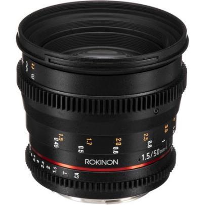 Rokinon Cine Lens DS: Picture 1 regular
