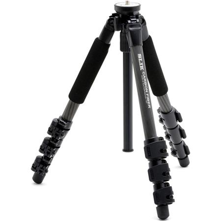 PRO 624 CFL 4-Section Carbon Fiber Tripod with Speed Release Locks, 43.5