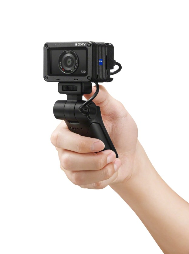 Camera control from grip