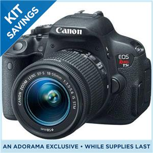 Canon EOS Rebel T5i DSLRSpecial Promotional Bundle | Joe The