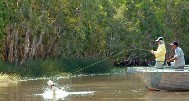 fishing Barra Country, Northern Territory