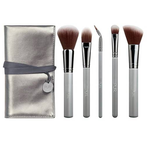 PUR synthetic cruelty-free brushes