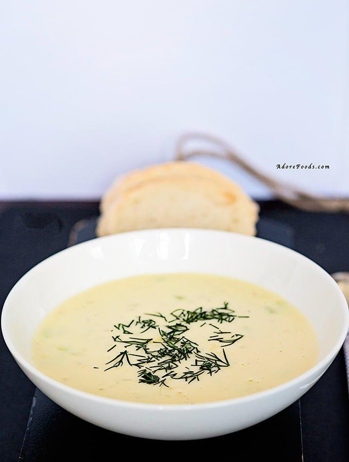 German potato soup