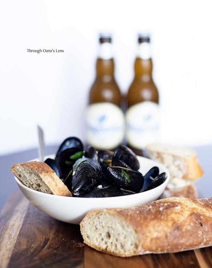 Belgium Mussels in Beer