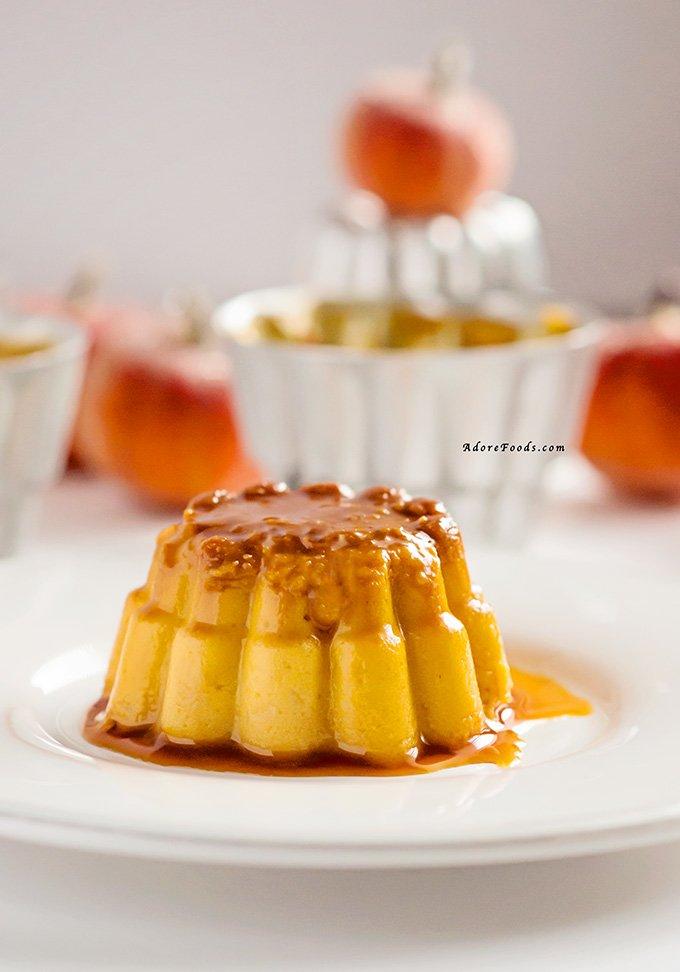 Cuban Pumpkin Flan