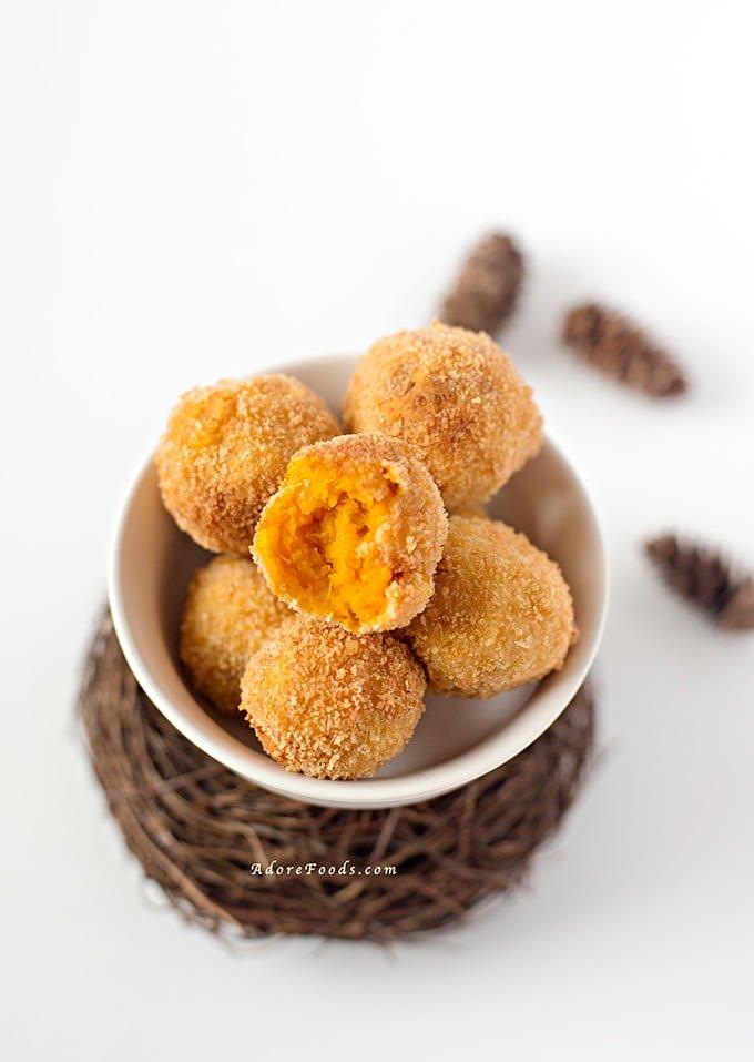 Japanese Pumpkin Croquettes