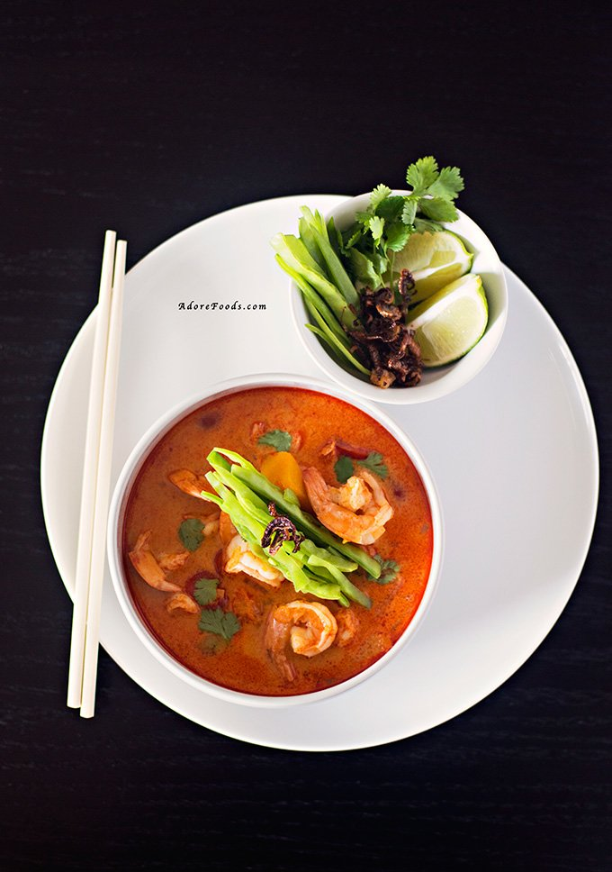 Thai Pumpkin and Shrimp Soup