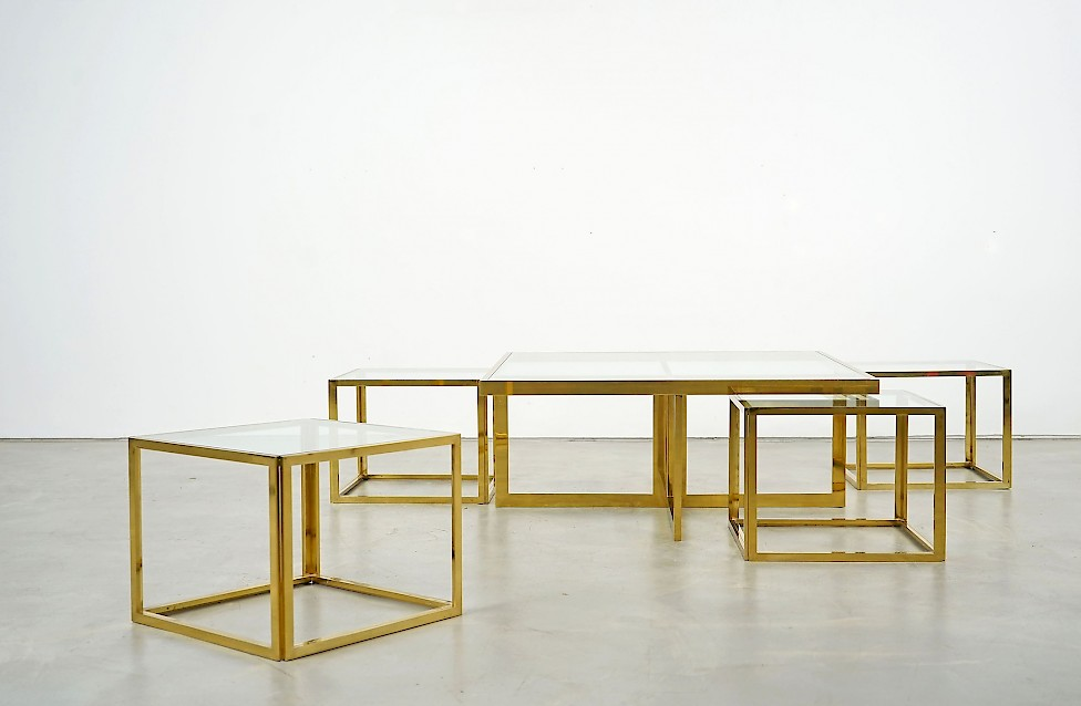 full brass coffee table adore modern