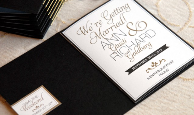 Booklet Wedding Invitation