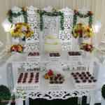 Aluguel Decoração Casamento Noivado Amarelo e Rosa