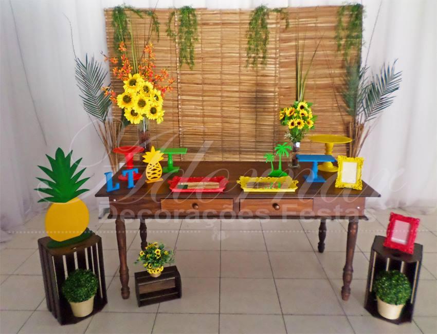 Decoração Havaí Aniversário e Eventos
