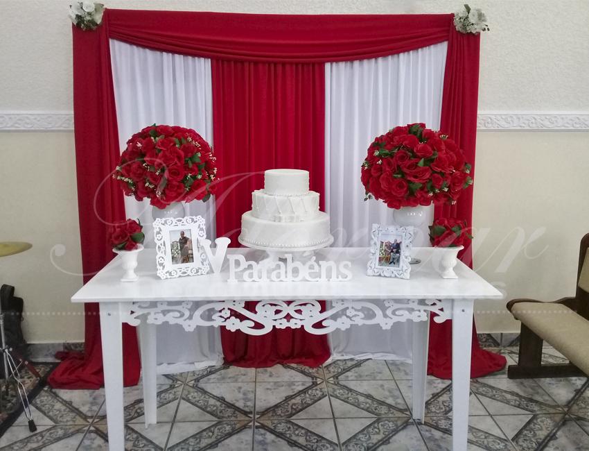 Decoração Casamento Vermelho
