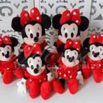 Locação de Kit Personagens Minnie Mouse Vermelha Para Festa Infantil