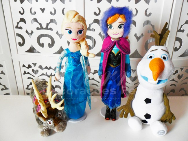 Kit Personagens Frozen
