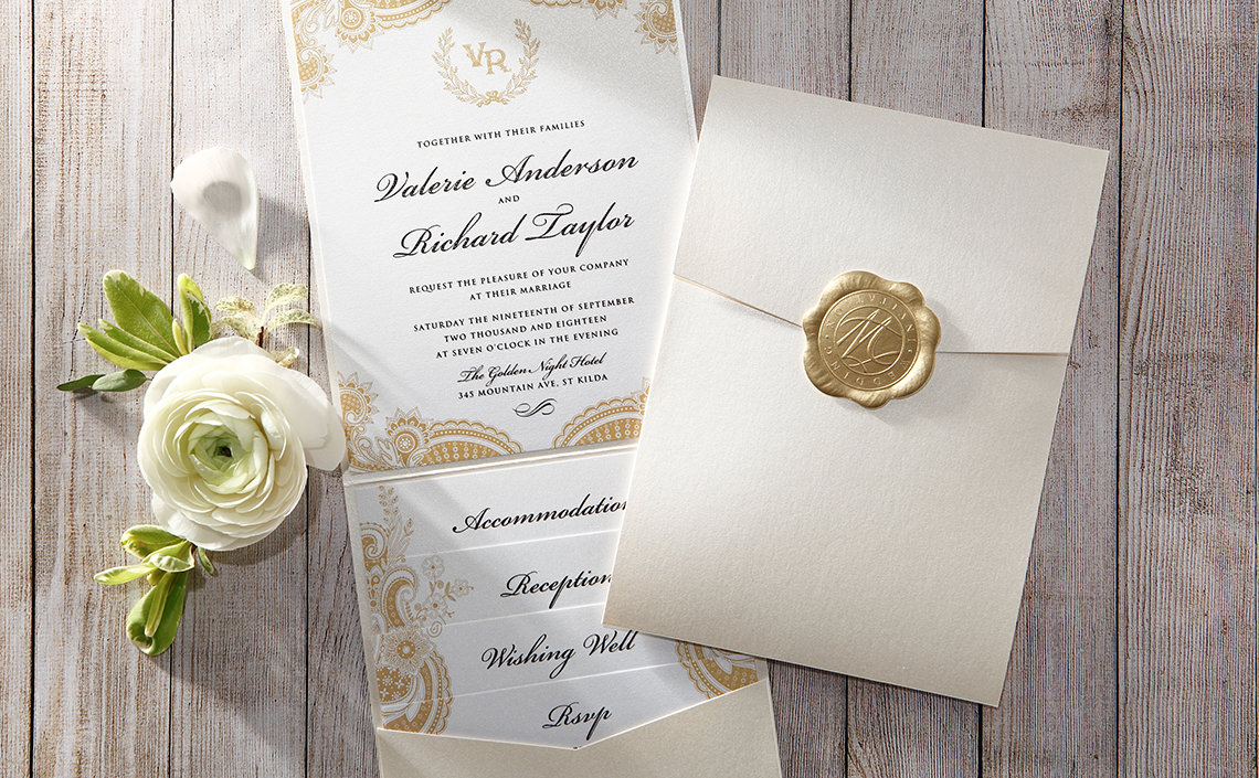 Cheap Letterpress Invitations