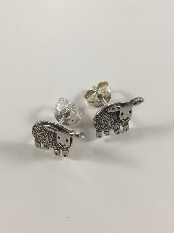 Woolly The Sheep Stud Earrings Adorn Jewellers Of Chesterfield