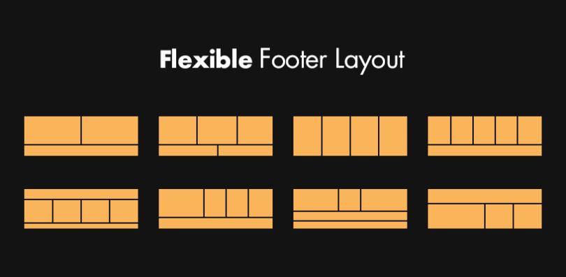 Flexible Footer Design