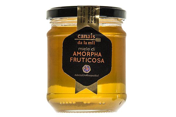 barattolo miele di amorpha fructicosa