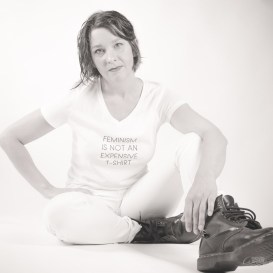 [FEMINISM] • • Satirizing the Dior feminism shirt. [MODEL] Marion Trausnitz [MUA] Elvira Irimia (@elviracarolina) • • [ISO] 500 [MM] 24 [F] 2,8 [SEC] 1/50 [SOFTWARE] LR6 • • Visit @downstairsaffair for urban & stuff • •