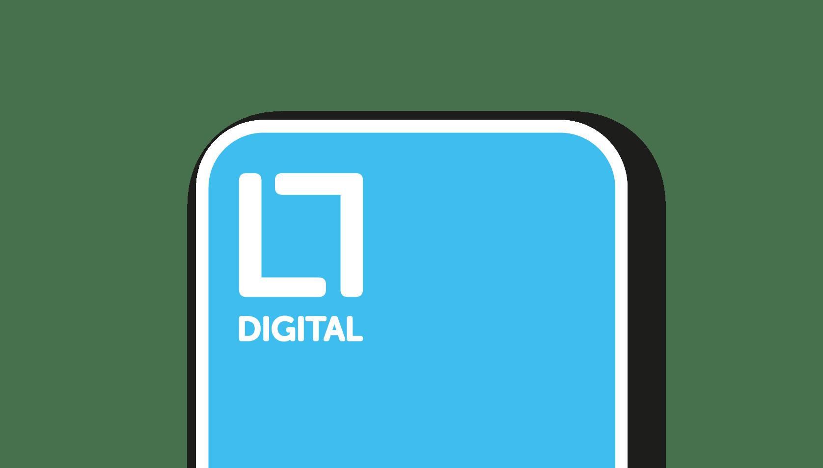 A secondary, flexible mark for digital marketing agency based in Loughborough, limelight digital.