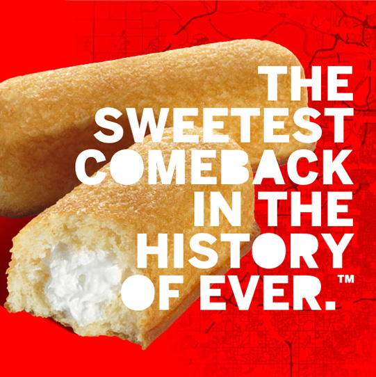 Hostess, the sweetest comeback in the history of ever