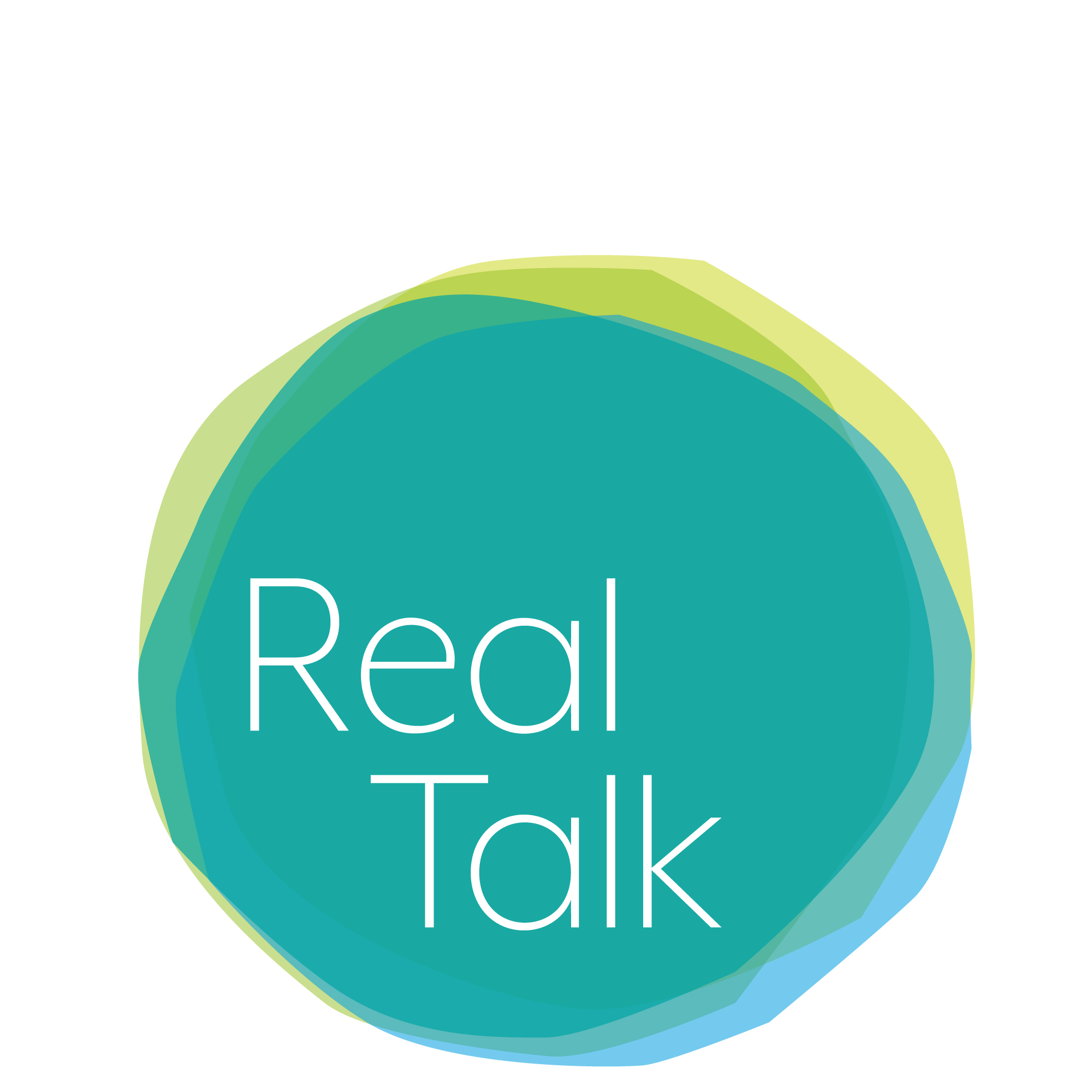 Real Talk logo as part of brand identity