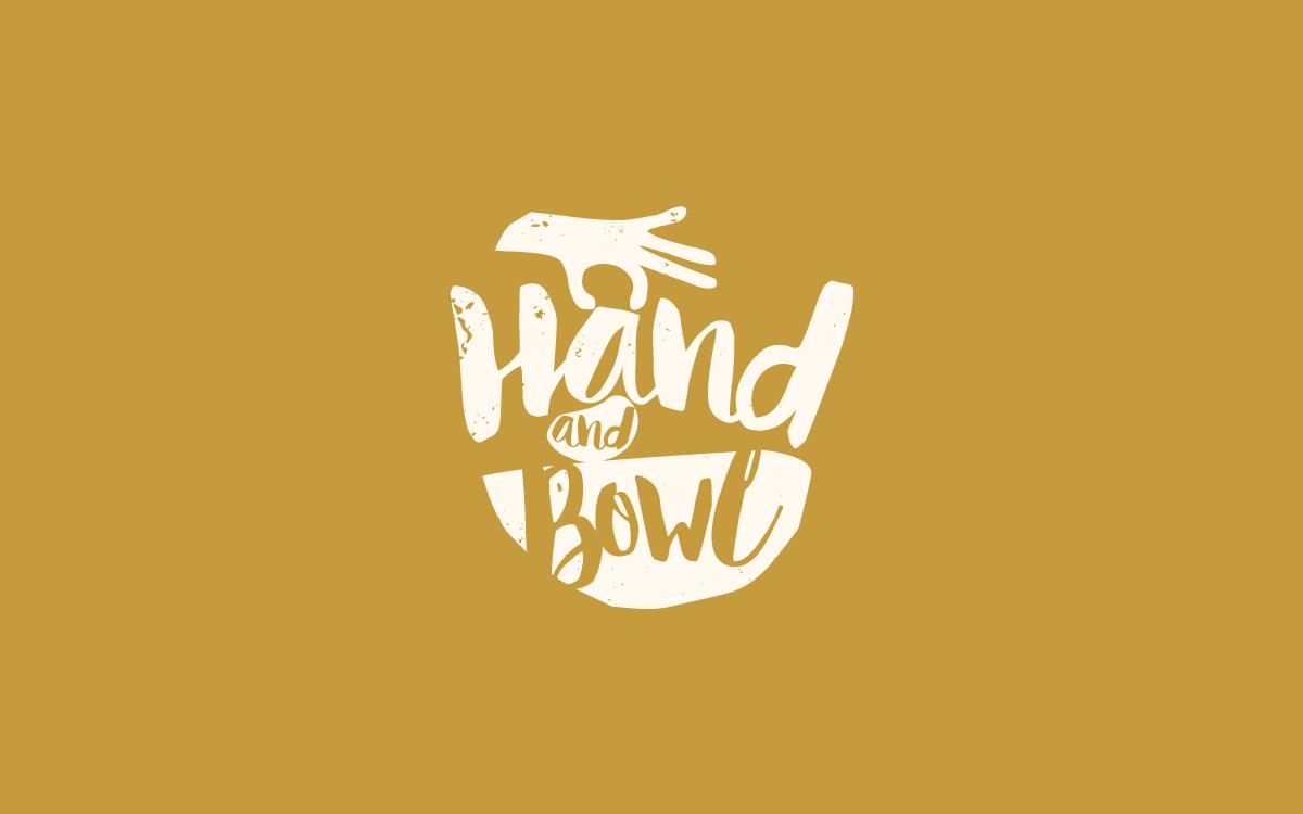 Hand and Bowl logo design