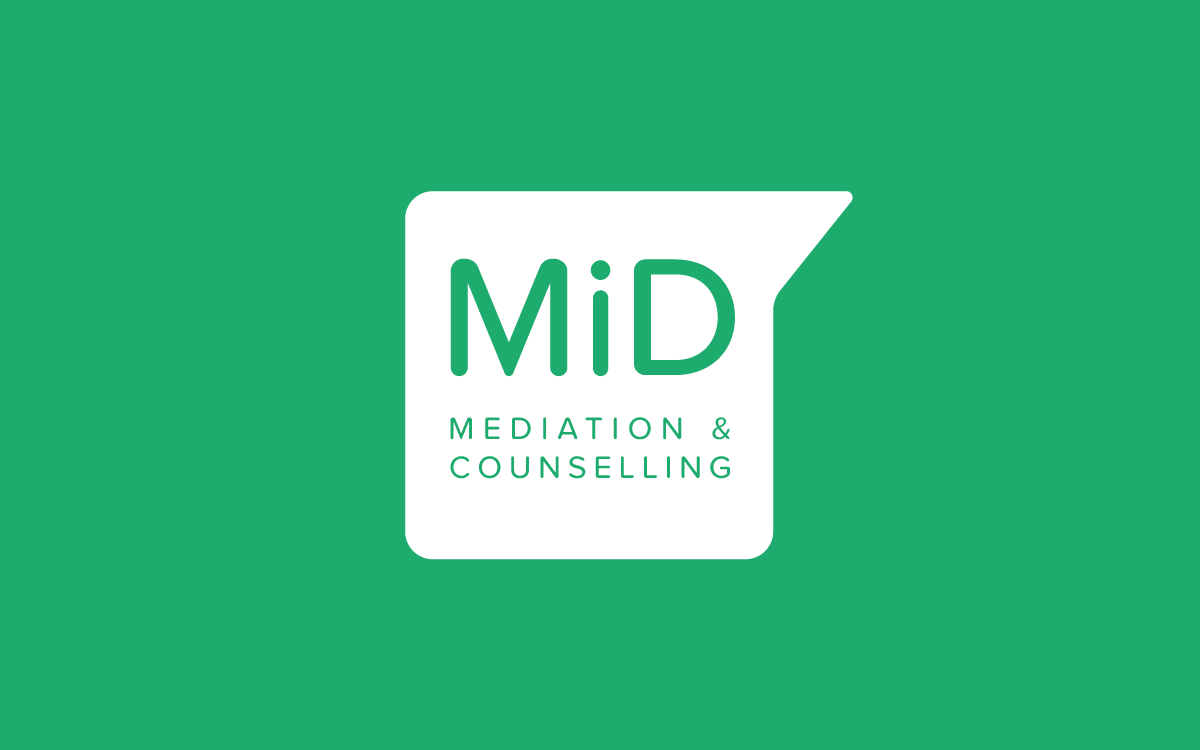 Brand for MiD mediation and counselling based in Hampton Hill