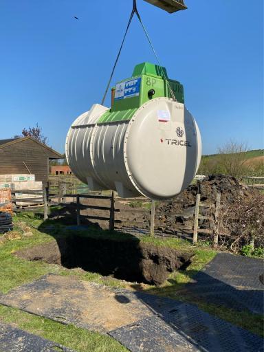 Sewage Treatment Plant installation, Yorkshire