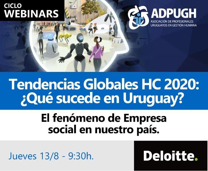 Tendencias Globales HC 2020: ¿Qué sucede en Uruguay?