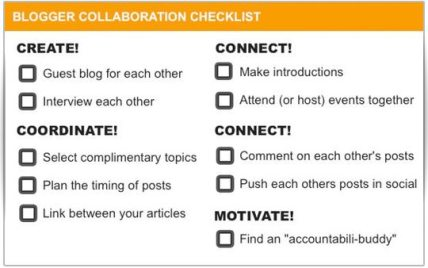 Blogger-Collaboration-Checklist