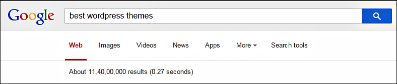 best wordpress theme search result