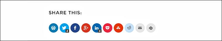 Social friendly wordpress theme