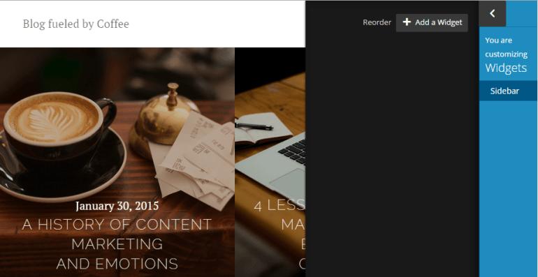 Widget Friendly WordPress Theme