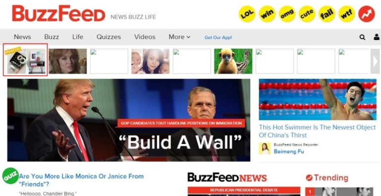 Buzzfeed native ads