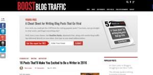 Boost Blog Traffic